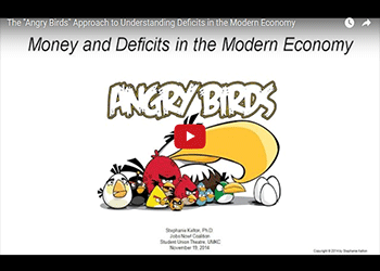 The Angry Birds Approach to Understanding Deficits in the Modern Economy