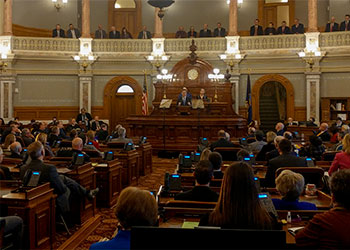 Governor Sam Brownback's 2018 Kansas State of the State address indicates a shift on K-12 funding