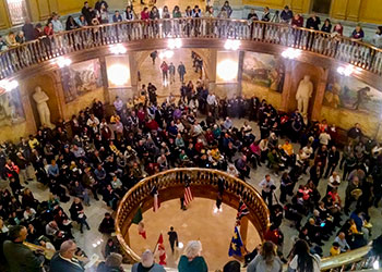 A Tale of Two Rallies, Part 1: Kansas People's Agenda Rally