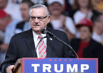 EDITORIAL: Trump talks 'rule of law' rhetoric out of both sides of mouth with Arpaio pardon