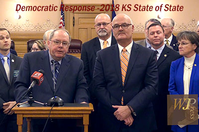 Democratic Response to the 2018 Kansas State of the State Address, January 9, 2018
