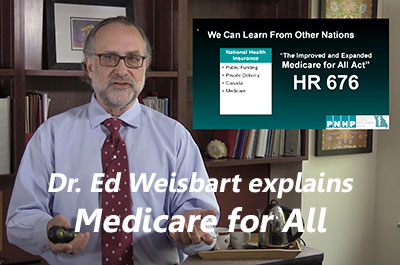Medicaid for All: We must change how we finance healthcare -- Dr. Ed Weisbart