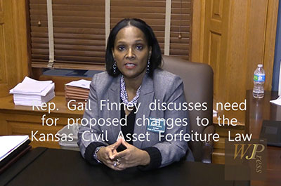 KS Rep. Gail Finney on proposed changes to Civil Asset Forfeiture Law