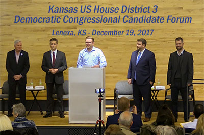 Introducing the 2018 Kansas Democratic U.S. House 3rd District Candidates