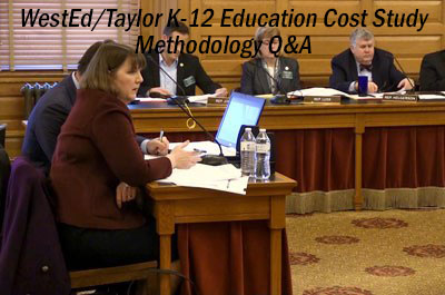 Q&A session following presentation: Estimating the Costs Associated with Achievement Expectations for Kansas Public Education Students