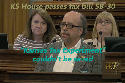 Kansas House income tax debate: Republicans knew the 'Kansas Experiment' couldn't be saved
