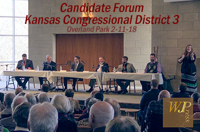 Kansas House District 3 Congressional Candidate Forum 2/11/18
