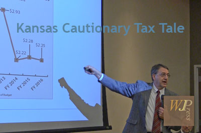 Kansas Cautionary Tax Tale forum by Mainstream Coalition 2/16/17