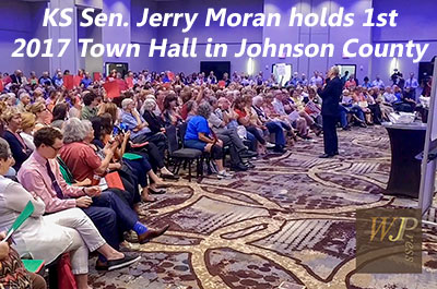 KS Senator Jerry Moran holds 1st Town Hall in KC metro area since Trump (FULL EVENT) 6-12-17
