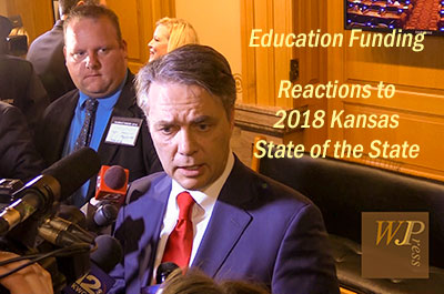 Topic: School Finance - 2018 Kansas State of the State with Responses, January 9, 2018
